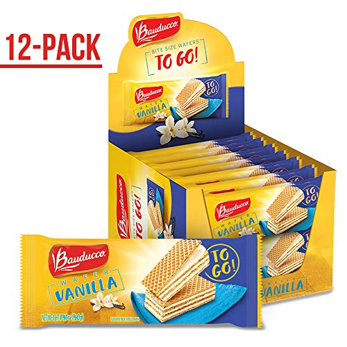 Bauducco Mini Wafer Cookies, Vanilla Wafers, Ideal Dessert, Snack, Pastry, School Lunches, Family Gathering, Party Snack, Work Lunch