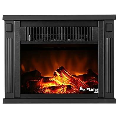 e-Flame USA Portable Electric Fireplace Stove