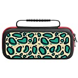 Print Travel Carry Case Bag for NS and Accessories Leopard 14