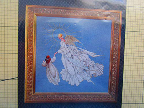 Lavender & Lace Angel of Mercy Counted Cross Stitch Pattern (Victorian Designs)