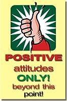 正attitudesのみBeyond This Point 。–教室Motivational Poster