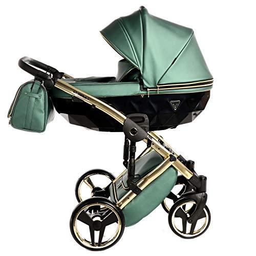 Silla de paseo combinada Junama silla de bebé con silla de paseo...