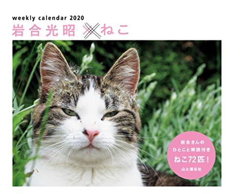 カレンダー2020 岩合光昭×ねこ <卓上> (ヤマケイカレンダー2020)