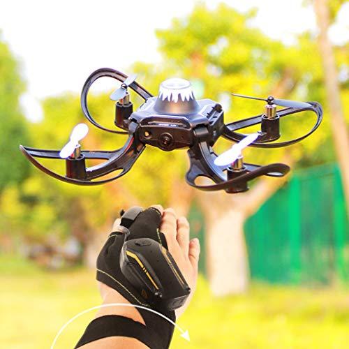 faltbare mini Drohne, mit neuerster Version der Handschuh Gestensteuerung