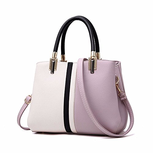 Women Bags Handbag Shoulder Bags PU Leather Fashion Crossbody Purse,Purple