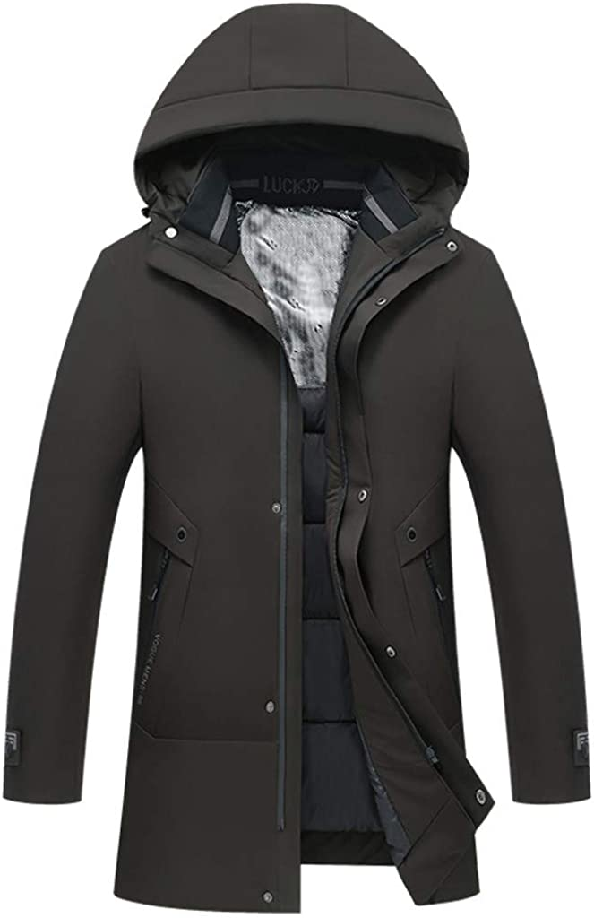 Men's Coat Windproof Warm Winter Outdoor Outwear Windproof Zipper Jacket