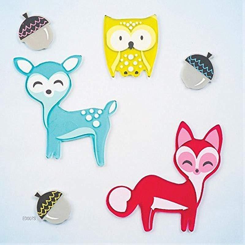 Design Ideas GelGems Fall Themed Gel Window Clings Little Critters Small Bag