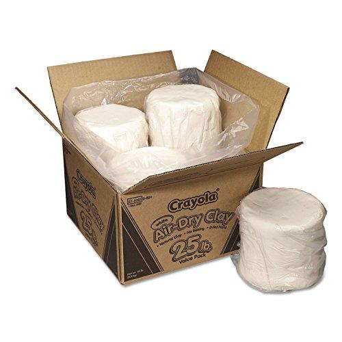 CYO575001 - Crayola 25 lb. Air-Dry Clay