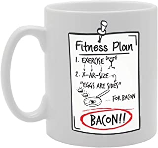 bacon coffee fitness