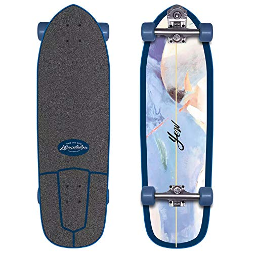 YOW Mundaka 32' Power Surfing Series, Complete Surfskates Unisex Adulto, Multicolore, Taglia Unica