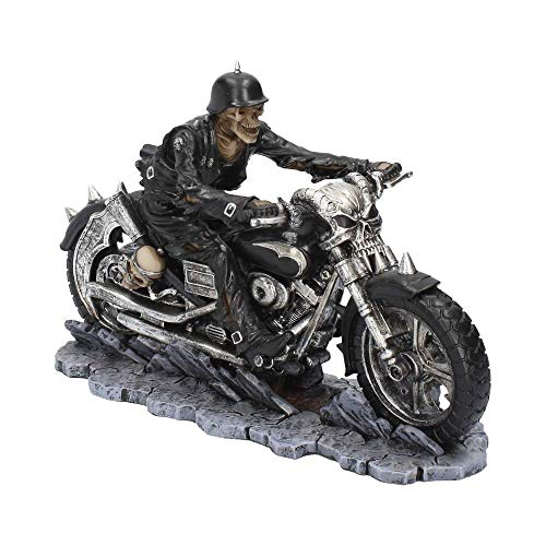 Nemesis Now Hell on The Highway James Ryman - Statuetta in resina, 20,5 cm, colore: Nero
