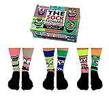 Feierabend Gesichter Oddsocks Socken in 39-46 im 6er Set - Out of Office Oddsocks Strumpf