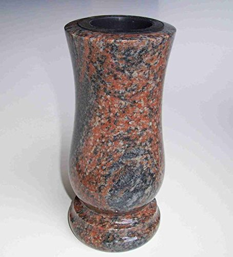 designgrab Gneis Halmstad / Barap mittelgroße Granit-Begräbnisvase
