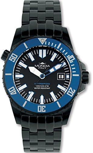 Mondia intrepido automatic orologio Uomo Analogico Automatico con cinturino in Acciaio INOX MI725N-2BM