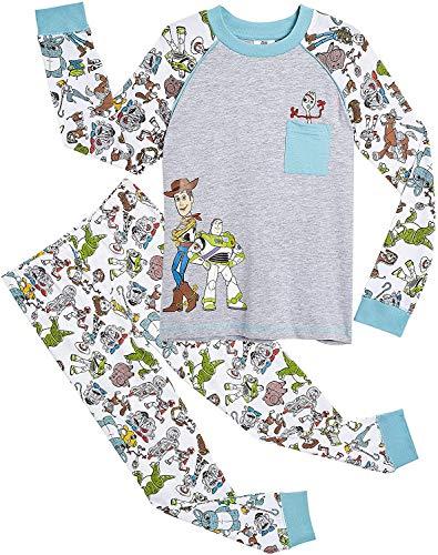 Disney Pyjamas Kinder Toy Story 4! | Weiche Und Bequeme Kleidung Zum Schlafen Von Jungen Und Mädchen Pixar Langarm-Schlafanzug | Mit Woody, Buzz Lightyear Und Forky! (2/3 Jahre)
