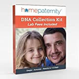 HomePaternity DNA Test Kit, Results in 2 Business Days, Lab Fees & Shipping to Lab Included