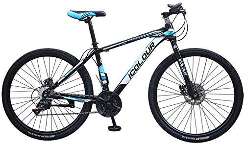 WJJH Mountain Bike for Men Land Rover 26 Inch with 24 Speed Bicycle Full Suspension MTB,Red100cm*85cm*35cm