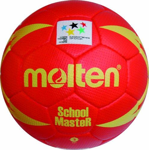 molten Handball, Rot/Gelb, 3, H3X-SM