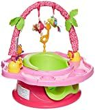 Summer 3-Stage SuperSeat Deluxe Giggles Island Positioner, Booster and Activity Seat for Girl , 16.89x9.02x17.01 Inch (Pack of 1)