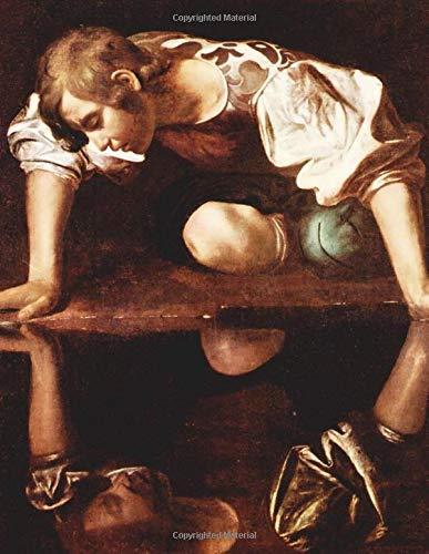 Caravaggio LARGE Notebook #17: Michelangelo Merisi da Caravaggio Notebook College Ruled to Write in 8.5x11