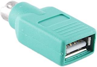Adaptador PS2 Macho a USB Hembra, Conversor de Ratón o Teclado de Ordenador