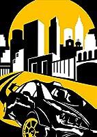 igsticker ポスター ウォールステッカー シール式ステッカー 飾り 841×1189㎜ A0 写真 フォト 壁 インテリア おしゃれ 剥がせる wall sticker poster 002803 スポーツ 車 イラスト