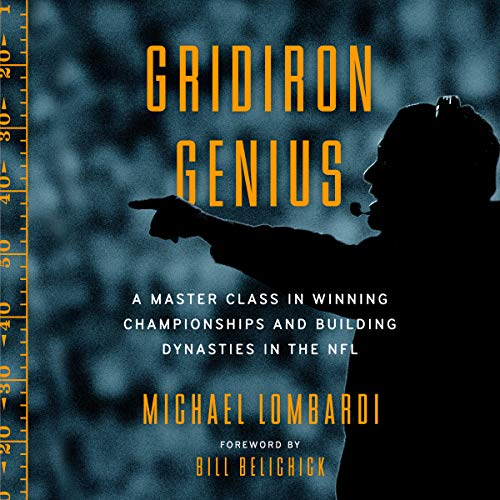 Gridiron Genius audiobook cover art