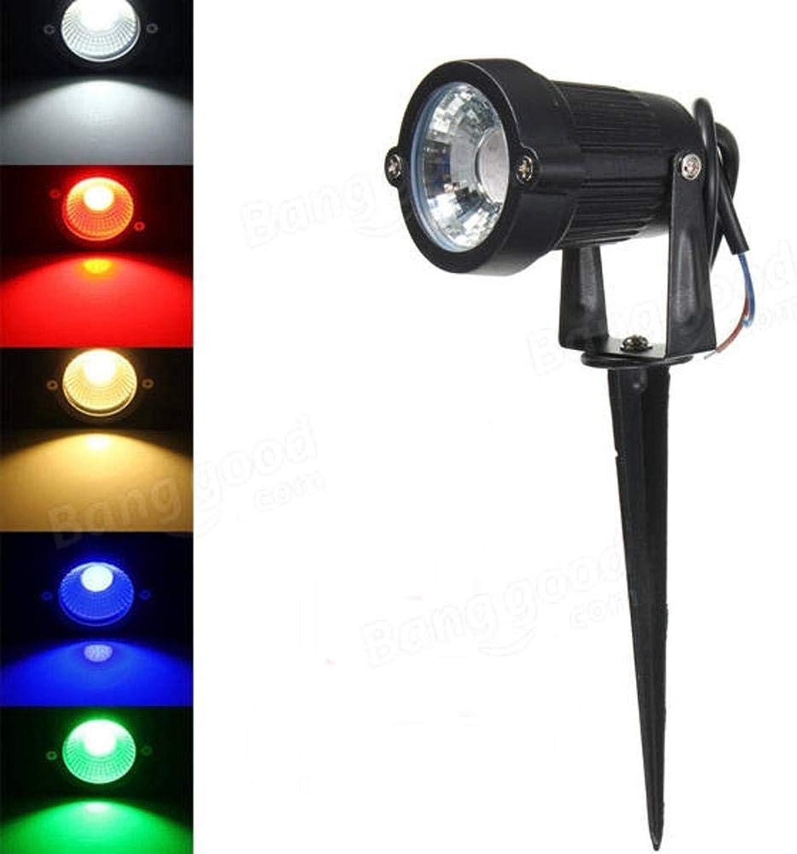 Aoligei 3W IP65 LED Flutlicht mit Rod für Outdoor-Landschaftsgarten-Weg AC85-265V