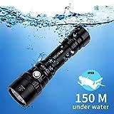 Diving Flashlight, Waterproof...
