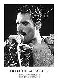Salopian Sales Poster Freddie Mercury Tribute # 24,