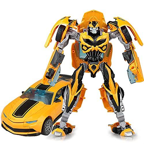 YUIOPA Trasformatori, Trasformazione Robot Human Alliance Bumblebee Trasforma Il Giocattolo Figura di Azione Auto - 7 Pollici