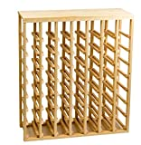 Creekside 56 Bottle Table Wine Rack (Pine) by Creekside - Exclusive 12 inch deep design conceals entire wine bottles. Hand-sanded to perfection!, Pine