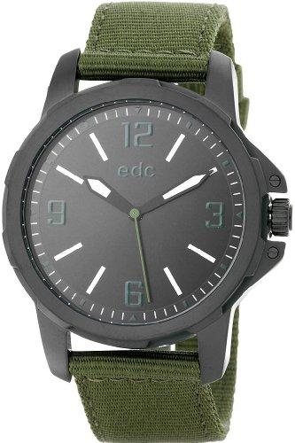Edc Herren-Armbanduhr XL Bold Scouter Analog Quarz Textil EE101071004