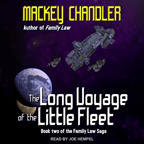 The Long Voyage of the Little Fleet audiobook cover art