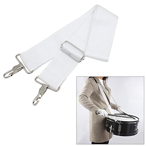 ammoon Snare Drum Sling Strap Belt with Adjustable Nylon Parade Marching