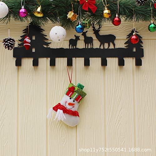 CYPYGDD Kerstmis Decoratieve Items Voor De Oudere Sneeuwman Snoep Gift Tassen Kerst Kousen Trompet Cartoon