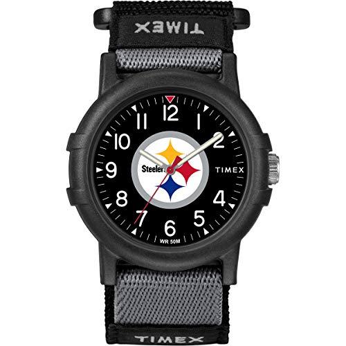 Timex Youth TWZFSTEYA NFL Recruit Pittsburgh Steelers Watch