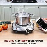 Zoom IMG-2 sunavo 1500w fornello elettrico singola