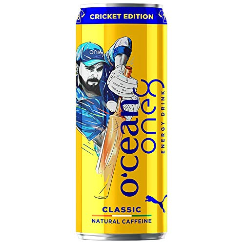 O'cean one8 Energy Drink with Natural Caffeine Cricket Edition, 500 ml