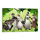 Poster und Wandkunstdruck, Motiv: Pinguine von Madagaskar