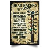 Drag racer's Prayer Posters 2019 Please Dear...