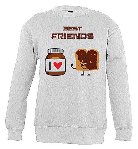 Unbekannt Nutella Funny Boys & Girls/Jungen & Mädchen Unisex Sweatshirts (130/140 cm)