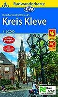 Radwanderkarte BVA Die schoensten Radtouren im Kreis Kleve 1:50.000, reiss- und wetterfest, GPS-Tracks Download: Mit Knotenpunkt-Netz