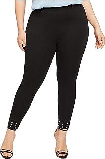 FRAUIT Leggins Donna Taglie Forti Vita Alta Plus Size Oversize Leggings Ragazza Fitness Push Up Yoga Pants Pantaloni Pales...