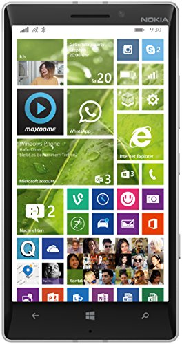 Nokia Lumia 930 Smartphone, Display 5 pollici, Fotocamera 20 MP, 2GB RAM, Processore Quad-Core 2,2GHz, Memoria 32GB, Windows Phone 8.1, Arancione [Germania]