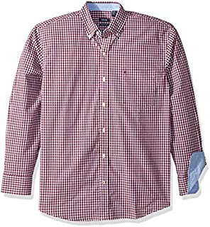 IZOD Men's CLEARANCE Button Down Long Sleeve Stretch...