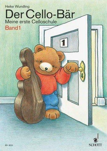 De cello-beer band 1: mijn eerste celloschool - een 4-kleurige, vrolijke celloschool voor het vroeg instrumentaal onderwijs met kinderen in de leeftijd van 5 tot 9 jaar. - Noten/sheet music