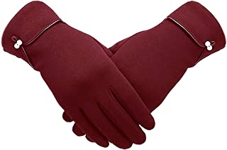 NEW Warm Winter Elegance Womens Thick Lining Touchscreen Gloves