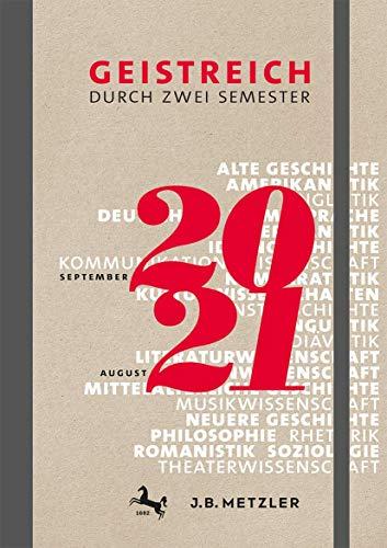 Geistreich durch zwei Semester: Semesterkalender 2020/21