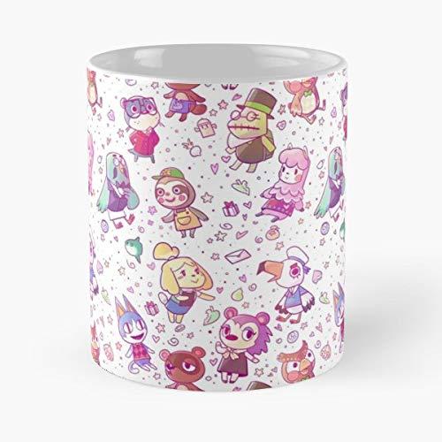 92Wear Animal Crossing Games Gaming New Leaf 3Ds Blathers Mayor Mug - Best 11 Ounce Cerámica Coffee Mug Gift